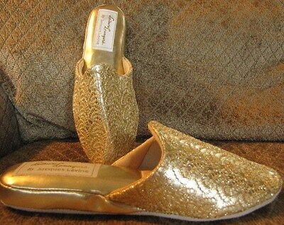 Vintage Wedge Slippers 'Leisure Loungers' by Jacques Levine Unworn