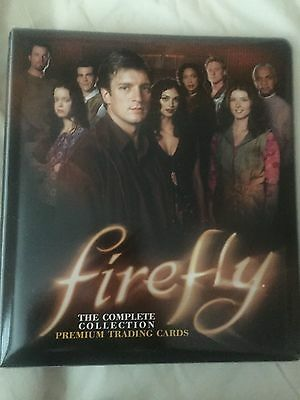 Firefly / Serenity Inkworks Trading Cards Master Set in Binder (rare)