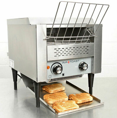 "Avatoast Conveyor Toaster Commercial 3"" 120V Oven Electric UPGRADED AVANTCO T140"