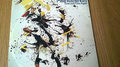 Mike Rutherford Time And Time Again 1980 Picture Sleeve