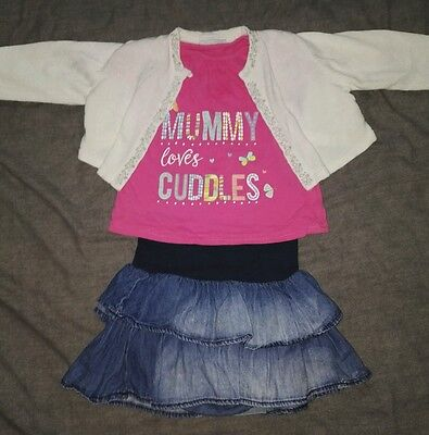 baby girls outfit 9-12 months
