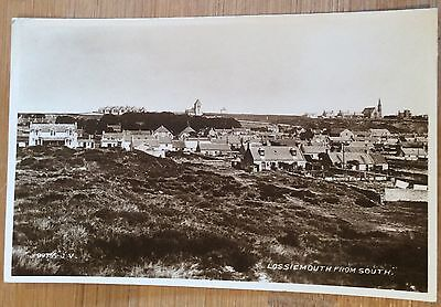 Valentines Rppc -   Lossiemouth From South Moray Scotland 1926 .