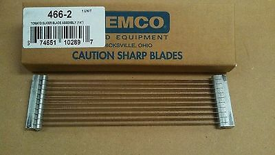 "Replacement Blade Set 466-2 (1/4"") for NEMCO 55600 Easy Tomato Slicer, FREE SHIP"
