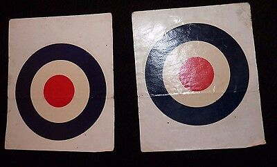Two WW2 RAF waterslide vehicle staff car decals