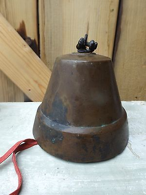 vintage old antique brass bell
