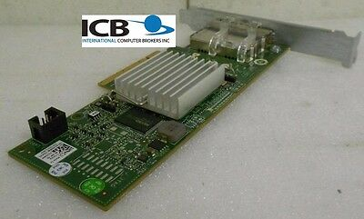 Dell 12DNW dual Port 6Gbps SAS PCI-E HBA Controller for PowerVault MD3200 MD3220