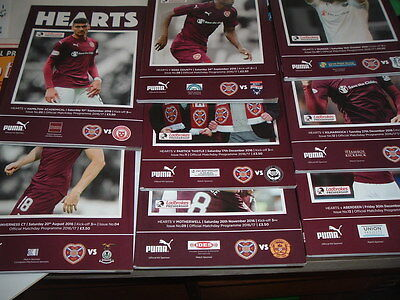 Hearts v Inverness Caley Aug 2016