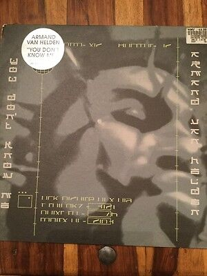 "ARMAND VAN HELDEN FEATURING DUANE HARDEN-You Don't Know Me (1999) (12"" Vinyl )"