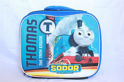 Thomas and Friends Train the Tank Engine Sodor Boys Blue Insulated Lunch Box Bag