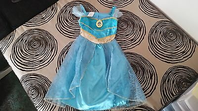 Pre-Owned Disney Princess Jasmine Dress Size Small 4-6 Good Condition