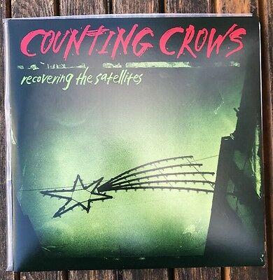 Vinyl Counting Crows ‎- LP Recovering The Satellites 1996 Near Mint Minus