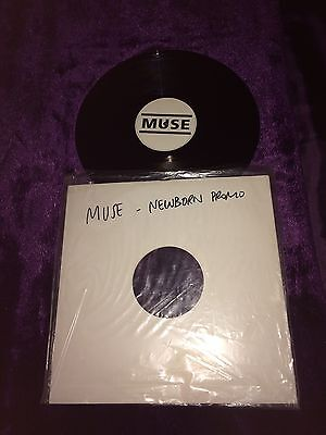 "Muse • Newborn • Rare 12"" Promo Vinyl • Remixes"