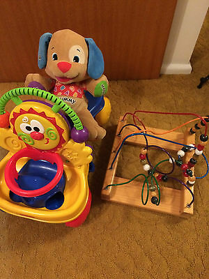 Fisher Price Ride on / Walker, Teddy and Activity Game