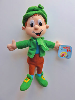 Breakfast Pals Plush 1998 Lucky Charms Lucky The Leprechaun NWT General Mills GM
