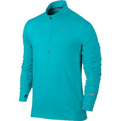 Nike 683485-418 Element Half-Zip - Omega Blue/Silver - S 683485-418-S
