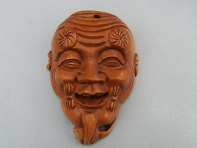 BEAUTIFUL MINIATURE FACE COVER CHINA CHINESE MASK ~ A lovely unusual gift