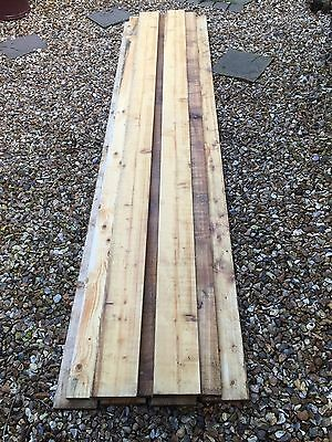 Eight 5 X 1 Timbers / Wood / Fencing 8ft Lengths