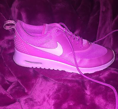 Womens Nike Air Max Thea Trainers, Size 5, Barely Worn