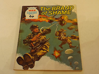 WAR PICTURE LIBRARY NO 758!,dated 1972!,GOOD for age,great 45!YEAR OLD issue.