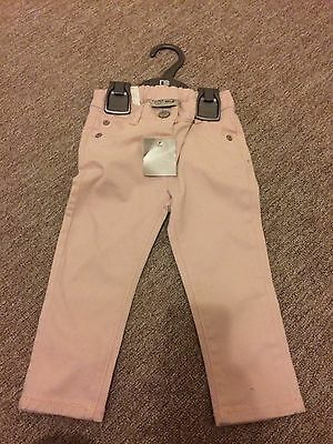 Girls 12-18 Months Pink Jeans From Next  Brand New With Tags