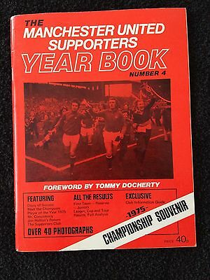 Manchester United Supporters Yearbook Number 4