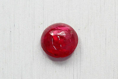 1.370 Ct NATURAL HOT RICH SPARKLING PIGEON RED BUR-MESE UNHEATED RARE SPINEL CAB