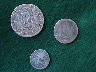Spanish Colonial Coin Lot