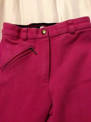 girls riding pants  size 24