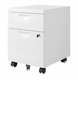 IKEA - Drawer unit w 2 drawers on castors ERIK white 41x57 cm