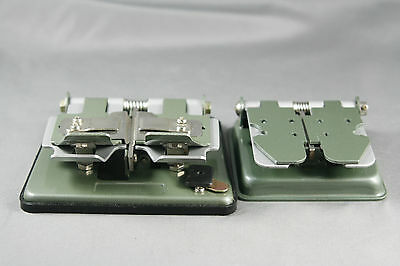 2 Vtg Film Splicers 3 Way and Reg 8 Made in Japan Super 8 16mm Movie Photography