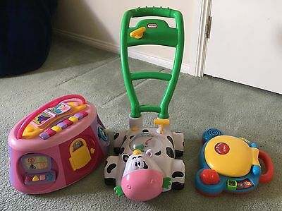 Electronic kids toys lot