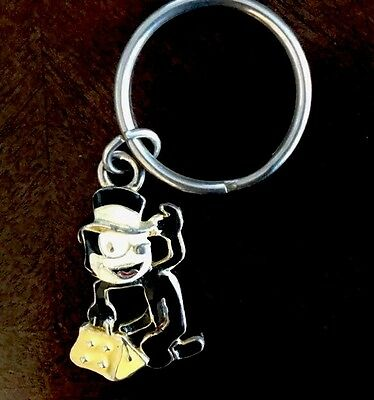 FELIX THE CAT WITH BAG OF TRICKS COLLECTIBLE Metal KEYCHAIN