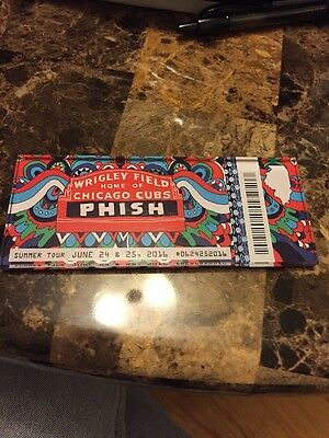 Phish Chicago Wrigley Field 2016 Official Lucite Magnet Limited Edition