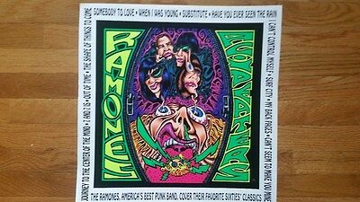"""Ramones rare """"Acid Eaters"""" Promotional Poster"""