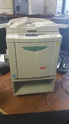 Riso Risograph EZ390 Duplicator with doc Feeder/BLACK drum 331k 2644 Masters