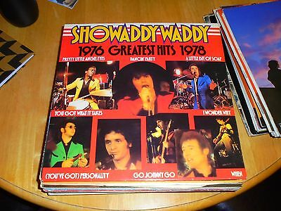 Lp/ Showaddywaddy / Greatest Hits 1976 To 1978 (1978 Uk Arista