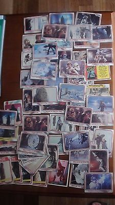 Star Wars The Empire Strikes Back, (1980) collector cards BULK