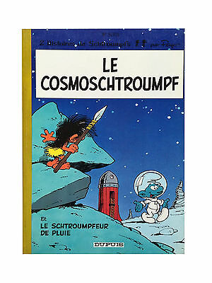 BD SCHTROUMPFS n°6 - Le Cosmoschtroumpfs - Réed. 1983 - TBE