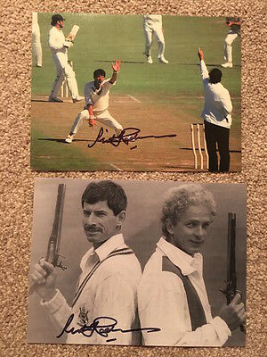 "2 Hand Signed New Zealand Cricket Sir Richard Hadlee 6x8"" Photos"