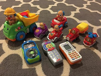 Electronic Learning & Music Toys Lot, VTech, Fisher Price