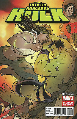 TOTALLY AWESOME HULK #13 Divided We Stand Variant Cover MARVEL 1:10
