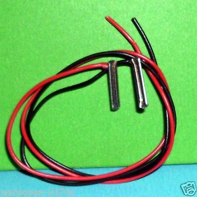 HO-OO Code 1/100 Terminal Track Joiners Power Connectors 2 x 16 cm Track Joiners