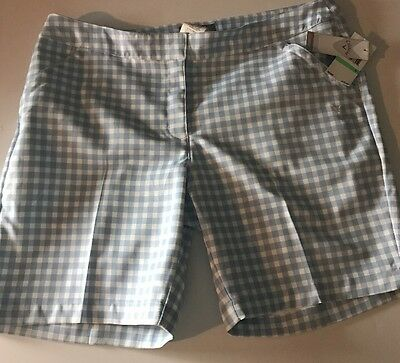 Callaway Golf Shorts Womens Opti-dri Size 8 MSRP $75