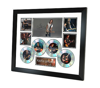 Keith Urban Signed photo Music Memorabilia Limited Edition of 250 & FRAMED