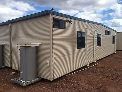 Atco Transportable3 bedBuildingsall with ensuites 12.5 M Length X 3.3 Width