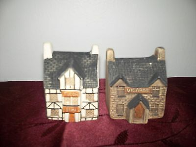 Philip Laureston Babbacombe Pottery Cottages Buildings Village Lot of 9 & 4 free
