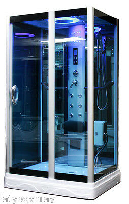 Steam Shower Room,Foot massage,Thermostatic,Aromatherapy.Bluetooth.USA Warranty