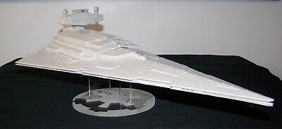 acrylic display stand for Revell AMT ERTL Star Destroyer model kit Star Wars