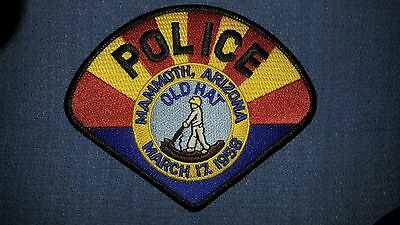 Mammoth Police Patch