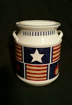 Tienshan AMERICANA Small Canister with Lid
